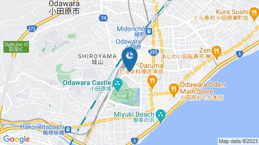 Toyoko Inn Odawara-eki Higashi-guchi Map