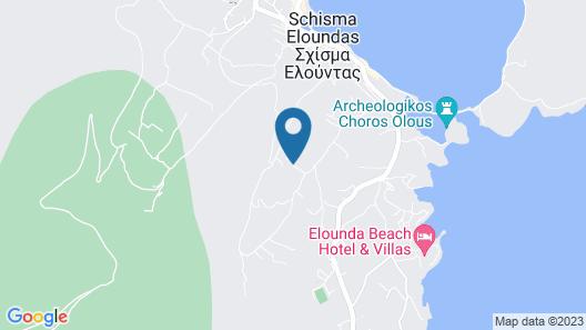 Elounda Water Park Residence Hotel Map