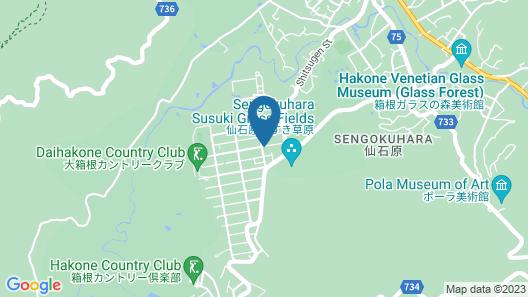 GrandTree Hakone Sengokuhara Map