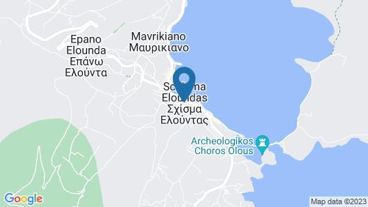 Elounda Orama Boutique Hotel Map