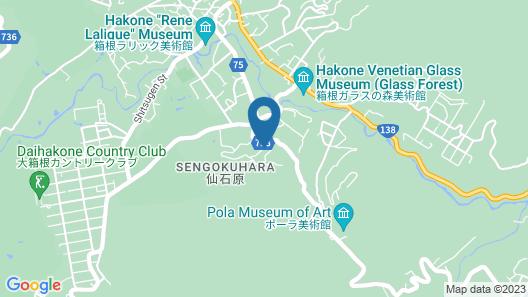 Hakoneonsen Sanso Nakamura Map