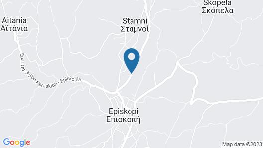 Agapi Villa Map