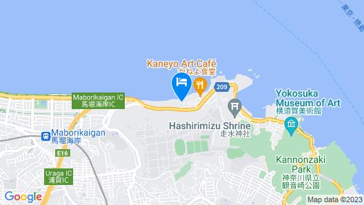 Isoryori Ryokan Yamani Map