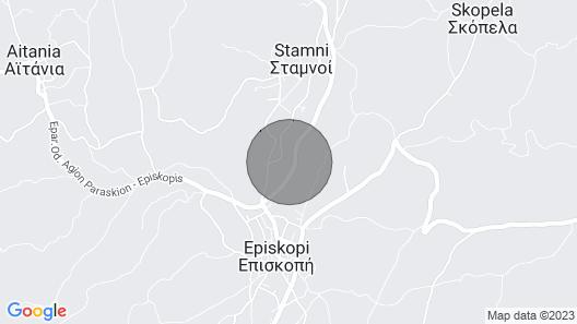 Holiday Home, Episkopi Map