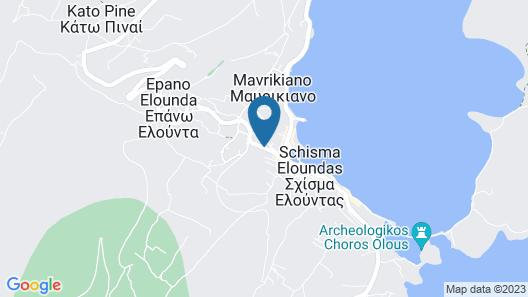 Elounda Garden Suites Map
