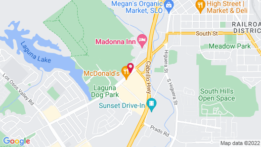 Vagabond Inn San Luis Obispo Map