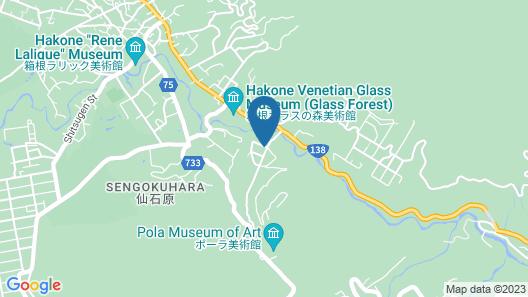 Hakone Man Rai Private Villa & Garden Map