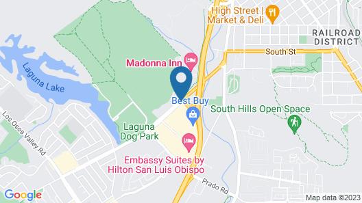 Madonna Inn Map