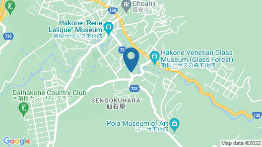 Fuji-Hakone Guest House Map