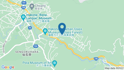 Hakone Retreat Villa 1/f - Adults Only Map