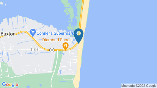 Outer Banks Motel - Village Accommodations Map