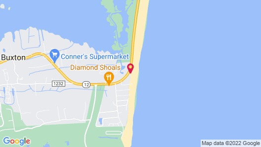 Outer Banks Motel Map