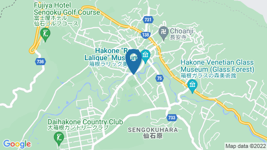 Hotel Harvest Hakone Koushien Map