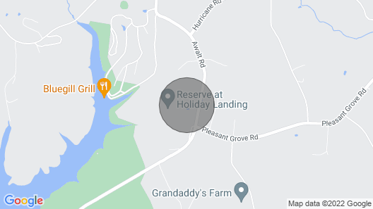 Lake Side Retreat at The Reserve w/ Golf Cart Map