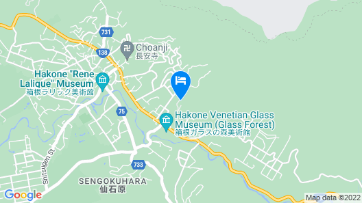 Hakone Retreat Fore - Adults Only Map