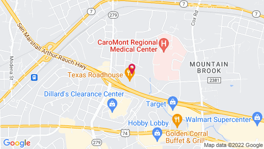 Courtyard by Marriott Charlotte Gastonia Map