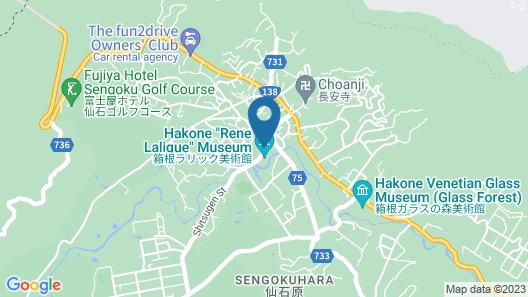 Hakone Current Uenoyama Map