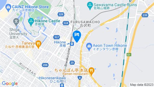 Comfort Hotel Hikone Map