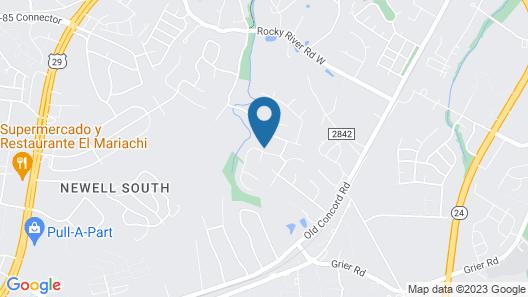 University City Guest House Map