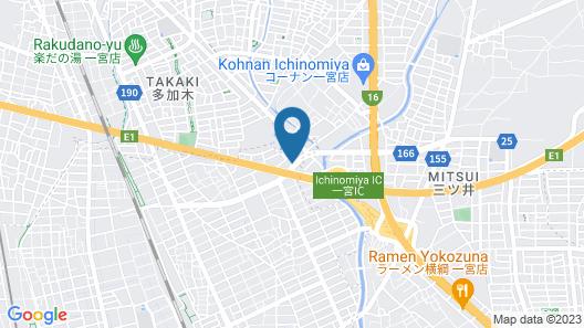 Hotel Christmas Map