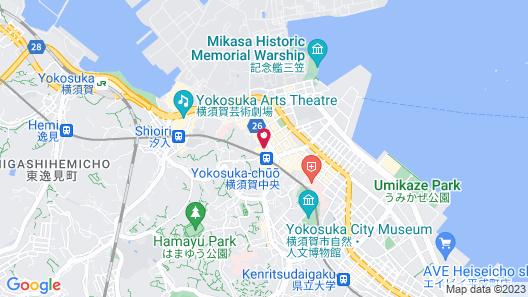 Central Hotel Yokosuka Map