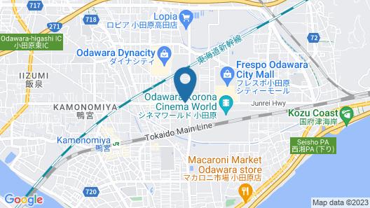 Hotel Kunimi Kamonomiya Map