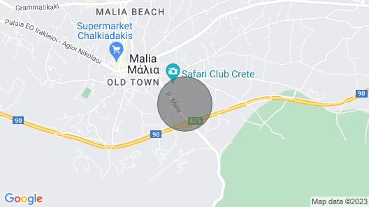 Villa Iris Luxury House With Sea View Map