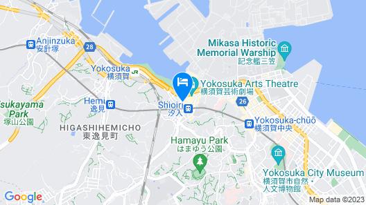 Mercure Yokosuka Map