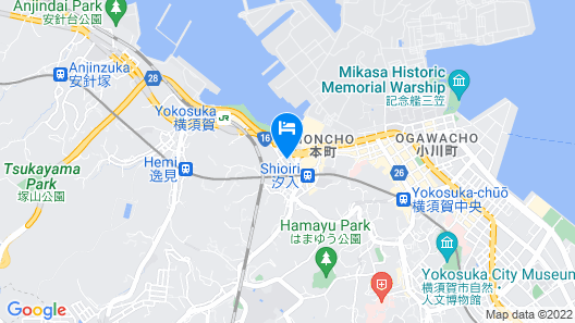 Hotel Harbour Yokosuka Map
