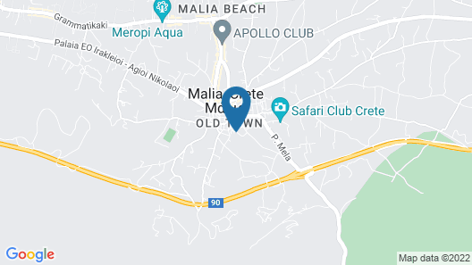 Stelios Residence Apartments Map