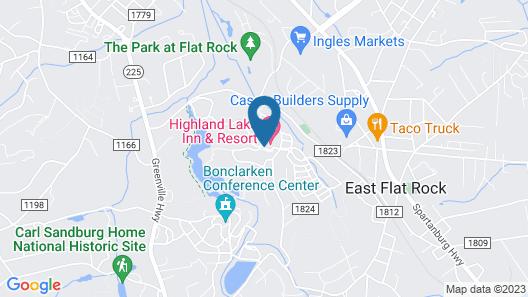 Highland Lake Inn & Resort Map