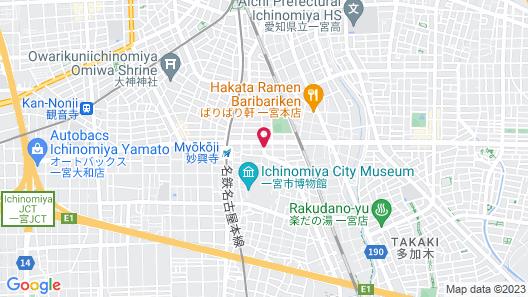 Business Hotel Sakai Map