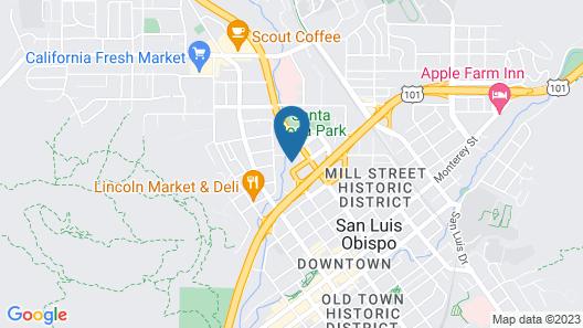 Olive Tree Inn & Suites Map