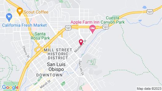 Sunbeam Motel Map