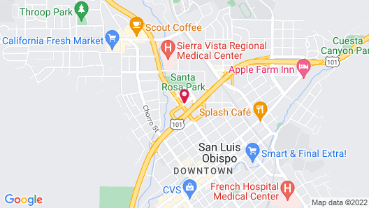 San Luis Inn And Suites Map