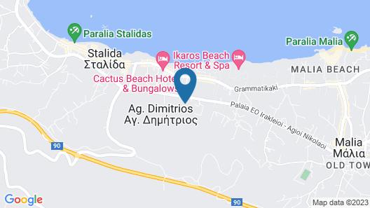 Koni Village - All Inclusive Map