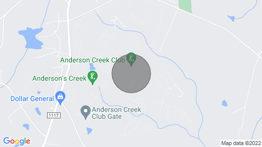 Anderson Creek Club Condo w/ Community Amenities! Map