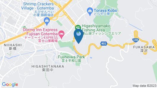YMCA International Youth Center TOZANSO Map