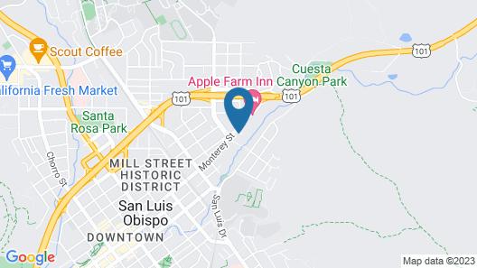 La Quinta Inn & Suites by Wyndham San Luis Obispo Downtown Map