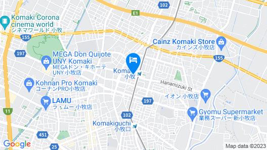 Meitetsu Komaki Hotel Map