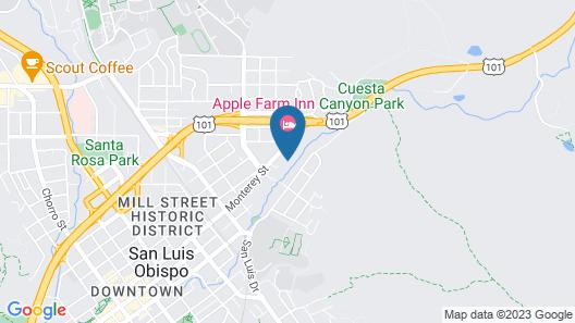 San Luis Creek Lodge Map