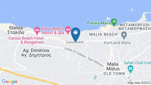 Kernos Beach Map