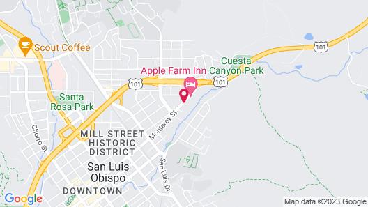 Mission Inn San Luis Obispo Map