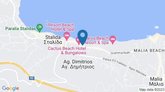 Malliotakis Beach Hotel by Checkin Map