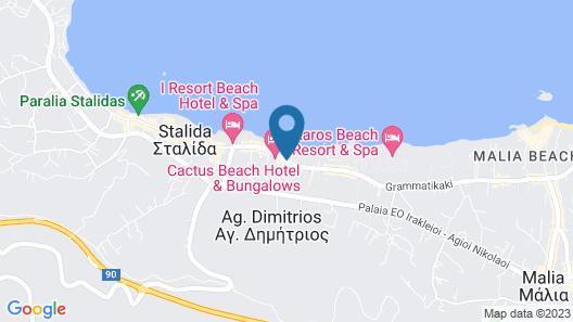 Cactus Royal Resort & Spa - All Inclusive Map
