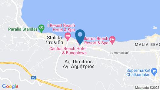 Cactus Beach Hotel - All Inclusive Map