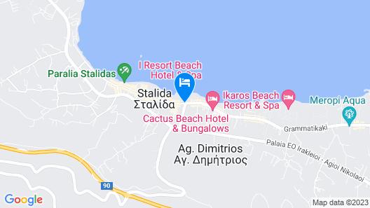 I Resort Beach Hotel & Spa Map