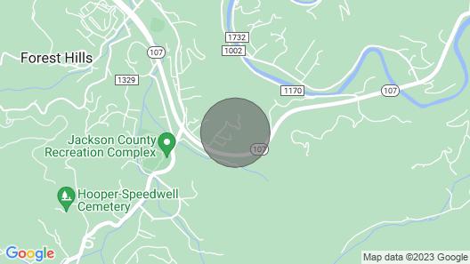 Mountain View Home near WCU w/ Wraparound Deck, Firepit, Free WiFi, & AC! Map
