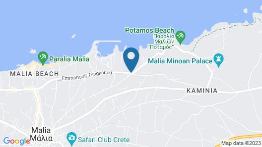 Cretan Malia Park a Member of Design Hotels Map