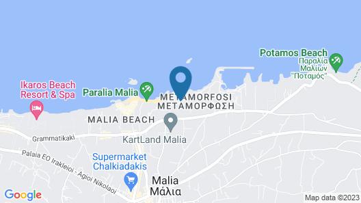 Pyrgos Blue Map